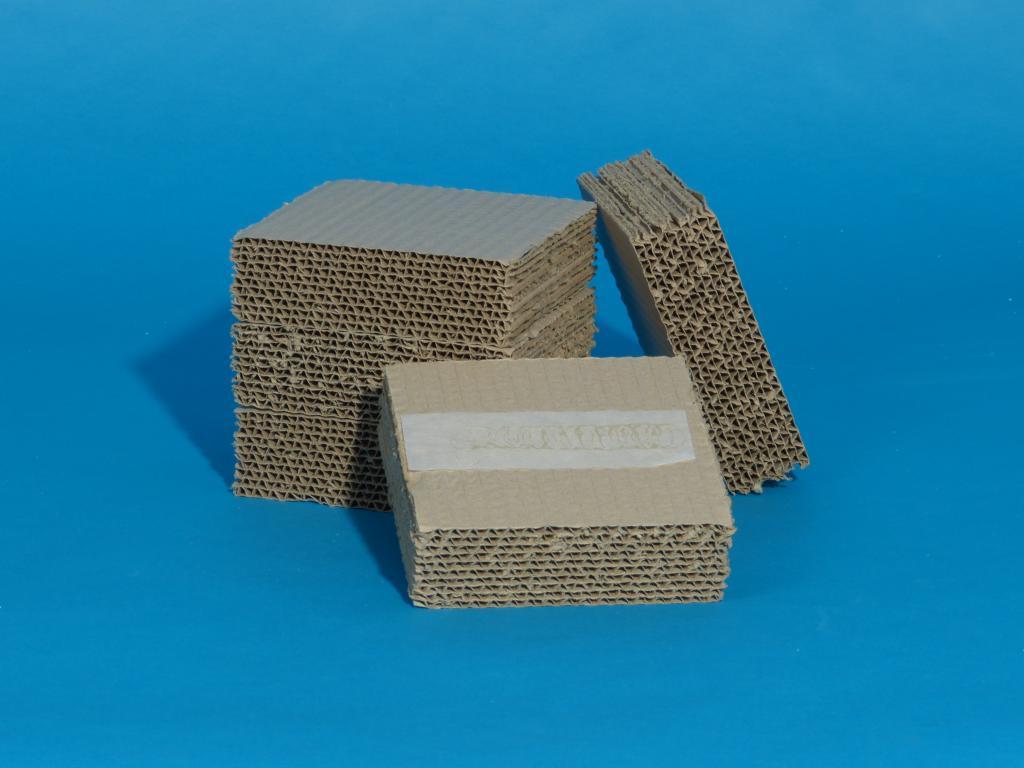 Wellpappplatten